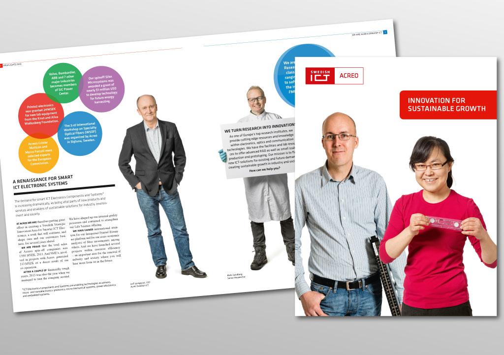 Företagspresentation för Acreo Swedish ICT